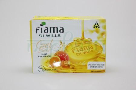 Мыло Fiama Di Will Gel Bar, Аромат - Апельсин и женьшень, 125 гр.