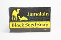 "Мыло Черное ""Jamalain BlackSeed soap с маслом тмина, Hemani, 75 грамм"