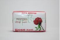 Мыло для тела, Роза, Патанджали / Rose Kanti Soap, Patanjali / 75 gr
