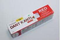"""Зубная паста Лечебная травяная  с красным перчиком """"Dant Kanti Red Patanjali Toothpaste """"20 грамм."""
