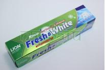 """Зубная паста натуральная отбеливающая """"Lion Thailand Fresh & White"""", 100 мл."""