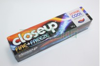 Зубная паста CLOSEUP fire + freeze Extreme cool,150  грамм