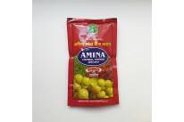 """Индийская натуральная хна """"Amina Herbal Henna Brown"""" 9 Herbals / Цвет коричневый,яркий.В составе 9 полезных индийских трав.75 грамм."""