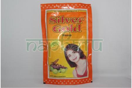 Хна для волос Silver Gold, 120гр