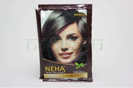 Натуральная краска на основе хны для волос и бровей,коричневая 15 гр.