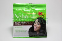 Краска для волос темно-коричневая Neha Herbals Dark Brown 10 ml