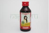 """Масло для волос """"Махабрингарадж"""", 100 мл, производитель """"Байдьянатх"""", Mahabhringraj Oil, 100 ml, Вaidyanath"""