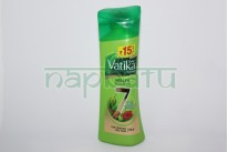 """Шампунь Дабур Ватика """"Vatika Health Shampoo 7 satt poshan"""" для тонких и ослабленных волос, 180 мл."""