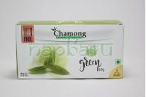 """Органический, зеленый травяной Чай для похудения """"Chamong"""", 25 пакетиков."""