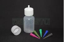 Аппликатор для нанесения хны с пластмассовыми насадками