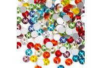 Стразы разноцветные (100 шт)