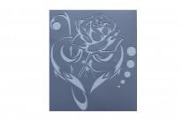 Роза (9,9 * 11,3 см)