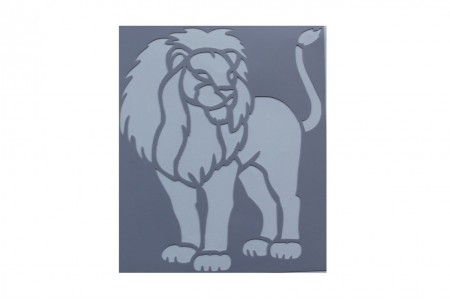 Лев (7,4 * 8,7 см)