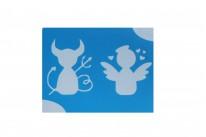 Ангел и Демон ( 7*9 см )