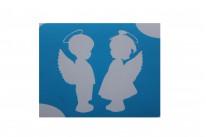 Два ангела ( 7*9 см )