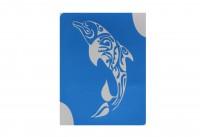 Дельфин ( 7*9 см )