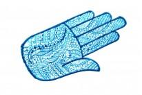 Трафарет на руку 16