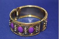 Браслет на руку фиолетовый