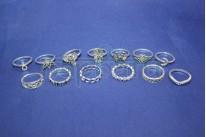 Набор колец на фаланги пальцев из 13 штук