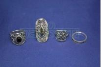 Набор колец на фаланги пальцев из 4 штук